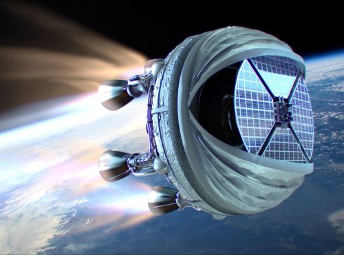 Bloostar, Zero2Infinity's dedicated small satellite launcher to put satellites in Low Earth Orbit on demand.
