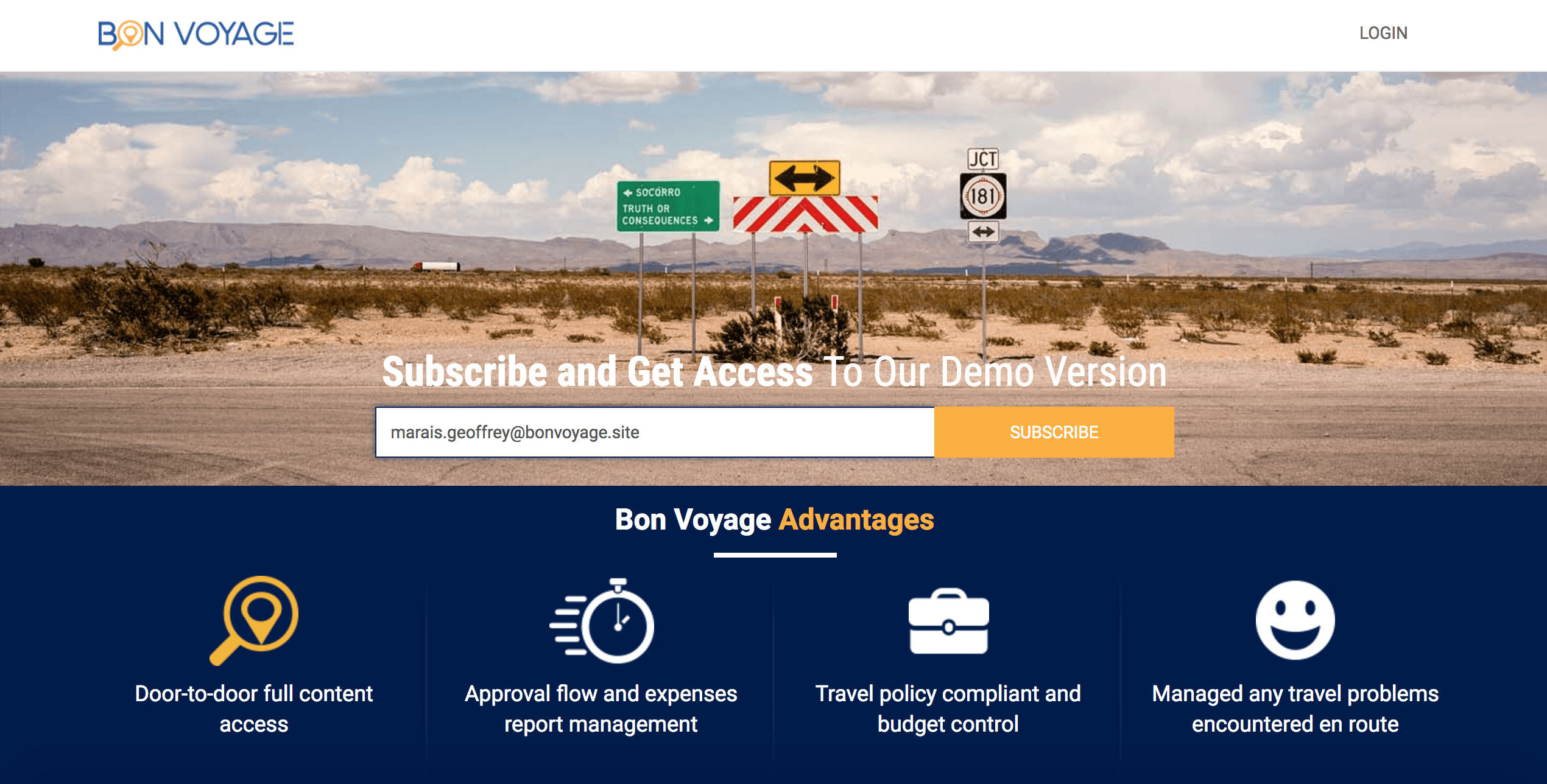 BonVoyage.SITE: An End-to-End Travel App