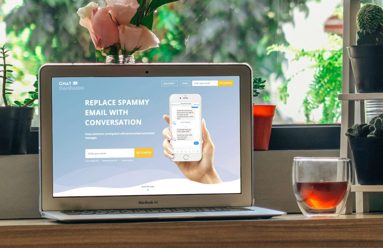 ChatCampaign.TECH converts spammy emails to conversations