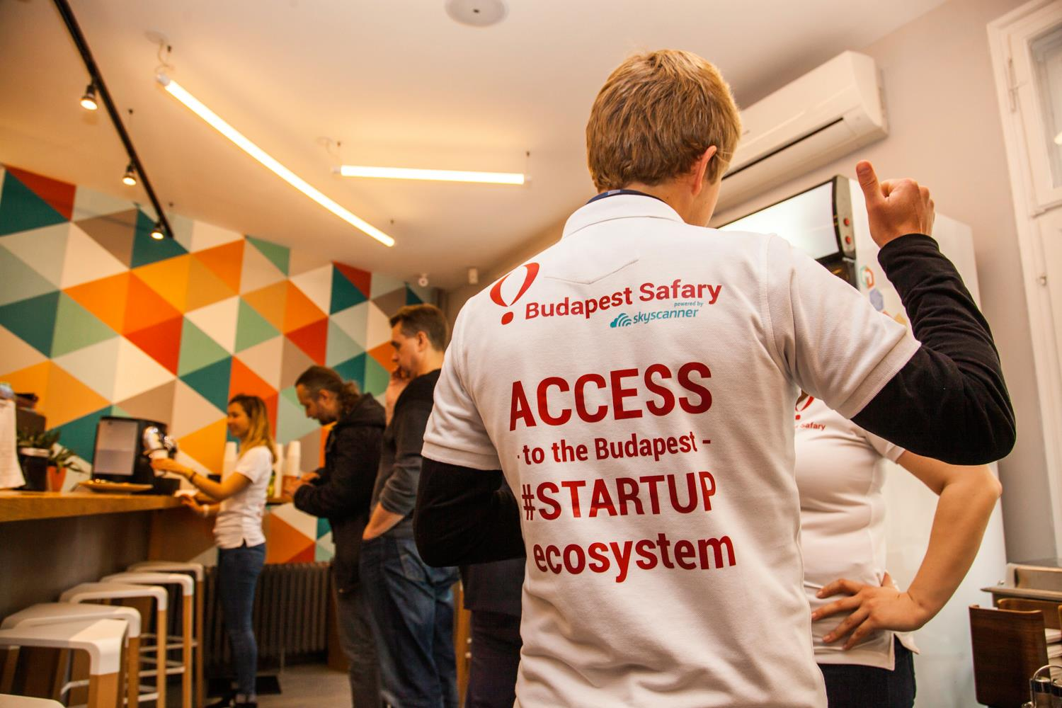 Mosaik Startup Safary, a startup event hosted in Hungary, Budapest